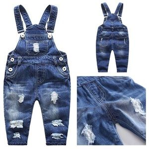 Other - New Toddlers Soft Denim Overalls